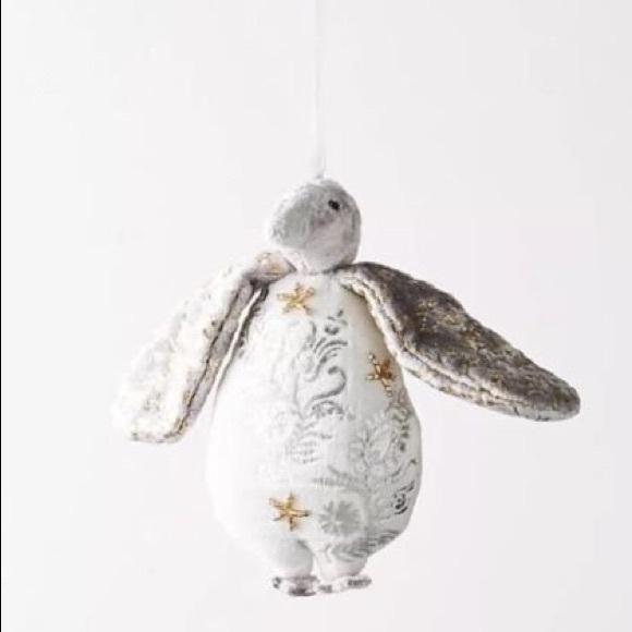 Anthropologie Penguin Christmas Ornament